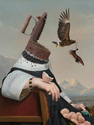 The Bird-Catcher 60 X 46 cm..jpg