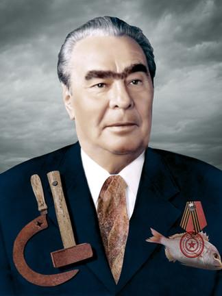 Portrait of Leonid Brezhnev