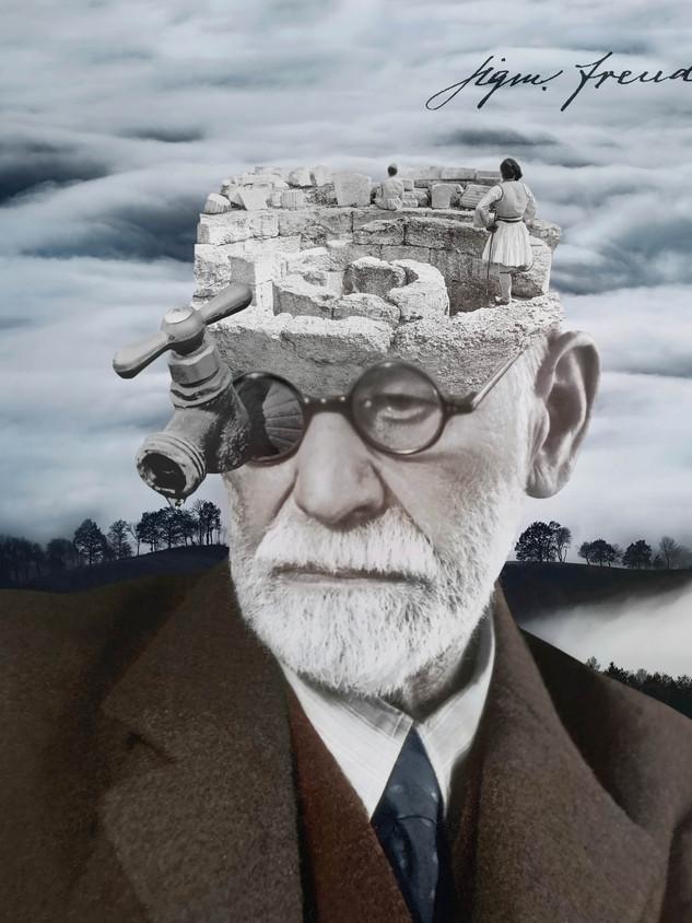 Portrait of Sigmund Freud