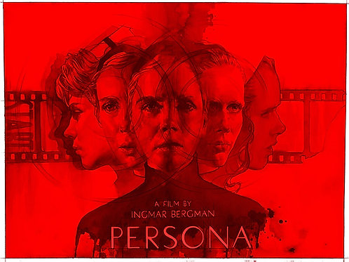 SIGNED with ORIGINAL drawing Persona (Red Variant) Artist's Proof
