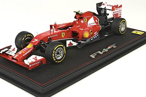 BBR Ferrari F14T Abu Dhabi 2014 Raikkonen