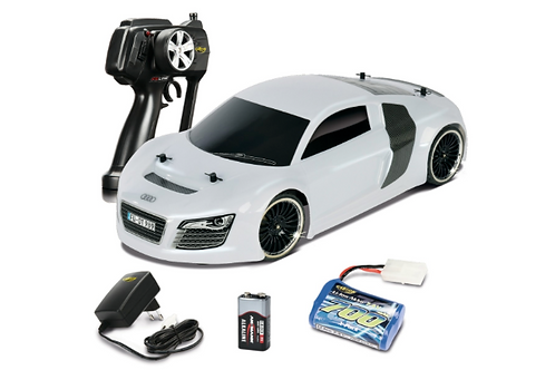 Carson 1: 10 FD Audi R8 2.4 G véhicule 100% RTR