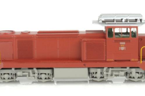 Lematec Diesellok Bm 4/4 18405 SBB Auslieferungszustand hellgrau Ep.III