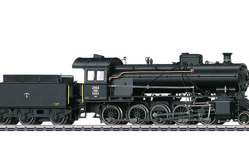 """Dampflokomotive mit Trix Schlepptender Serie C 5/6 """"Elefant"""""""