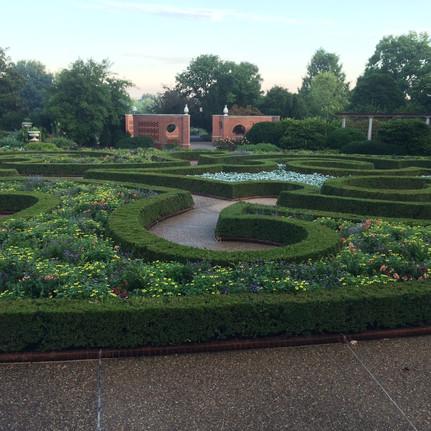 Parterres at Missouri Botanical Garden