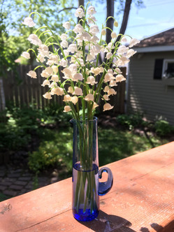 Lily of the Valley in Swedish vase