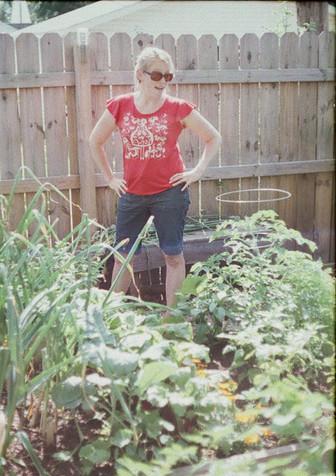 Sassy gardener