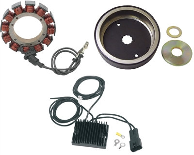 USA-1  CHARGING SYSTEM 32 AMP KIT DYNA & SOFTAIL