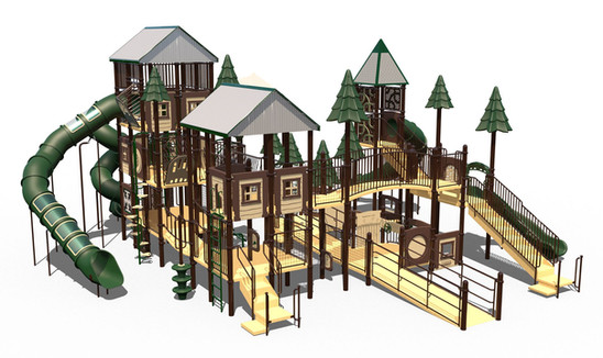 6-12 Year Old Play Equipment