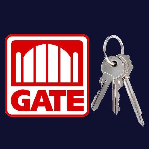 Tennis Club Gate Keys