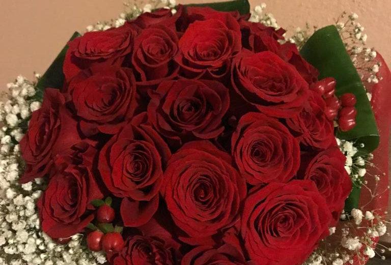 BOUQUET 24 ROSE ROSSE