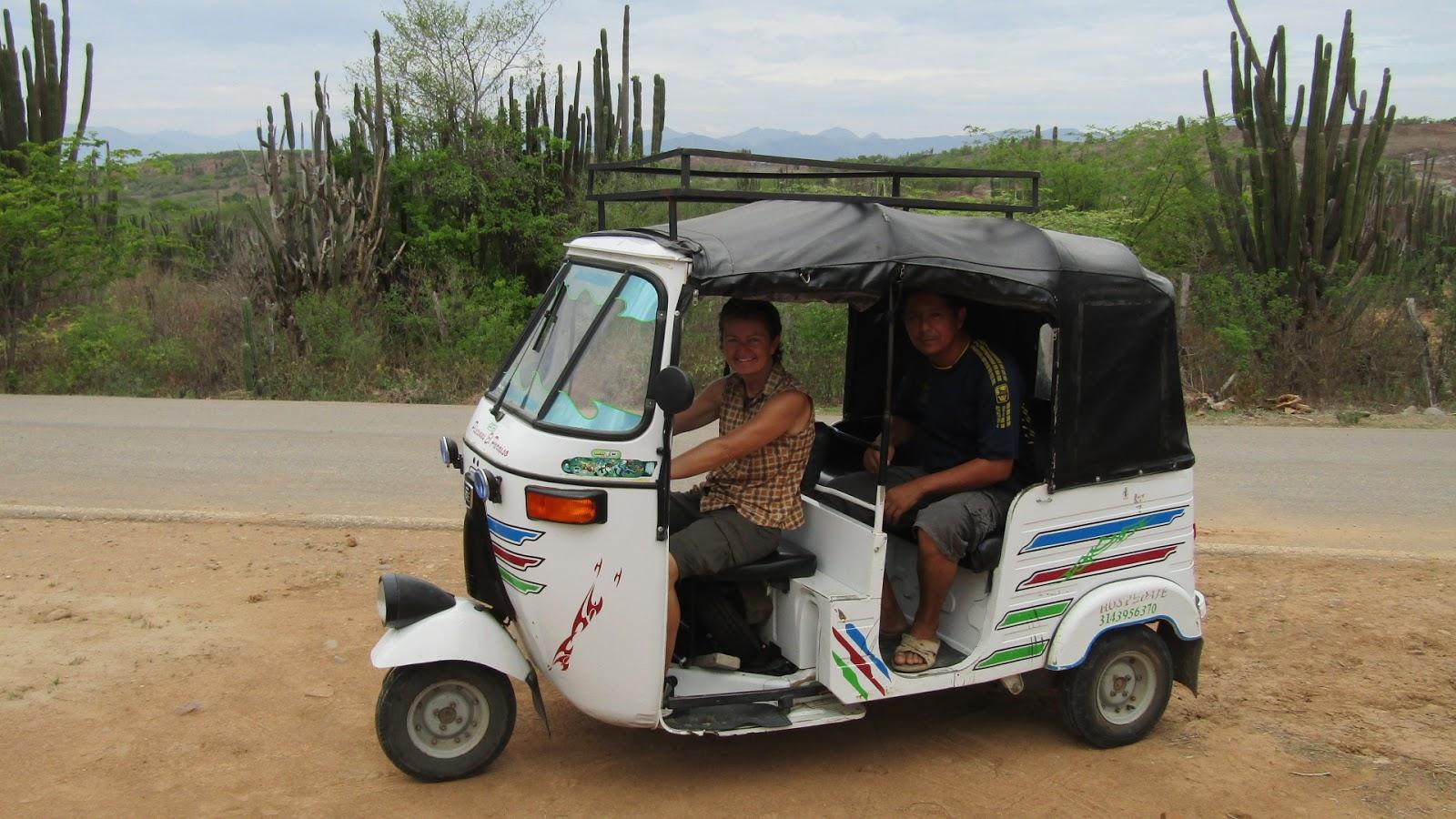 3 wheel taxi