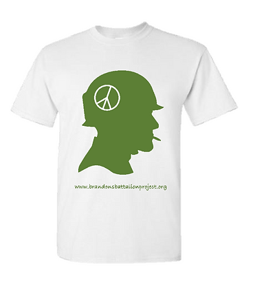 Green Peace Sign Vietnam War Veteran