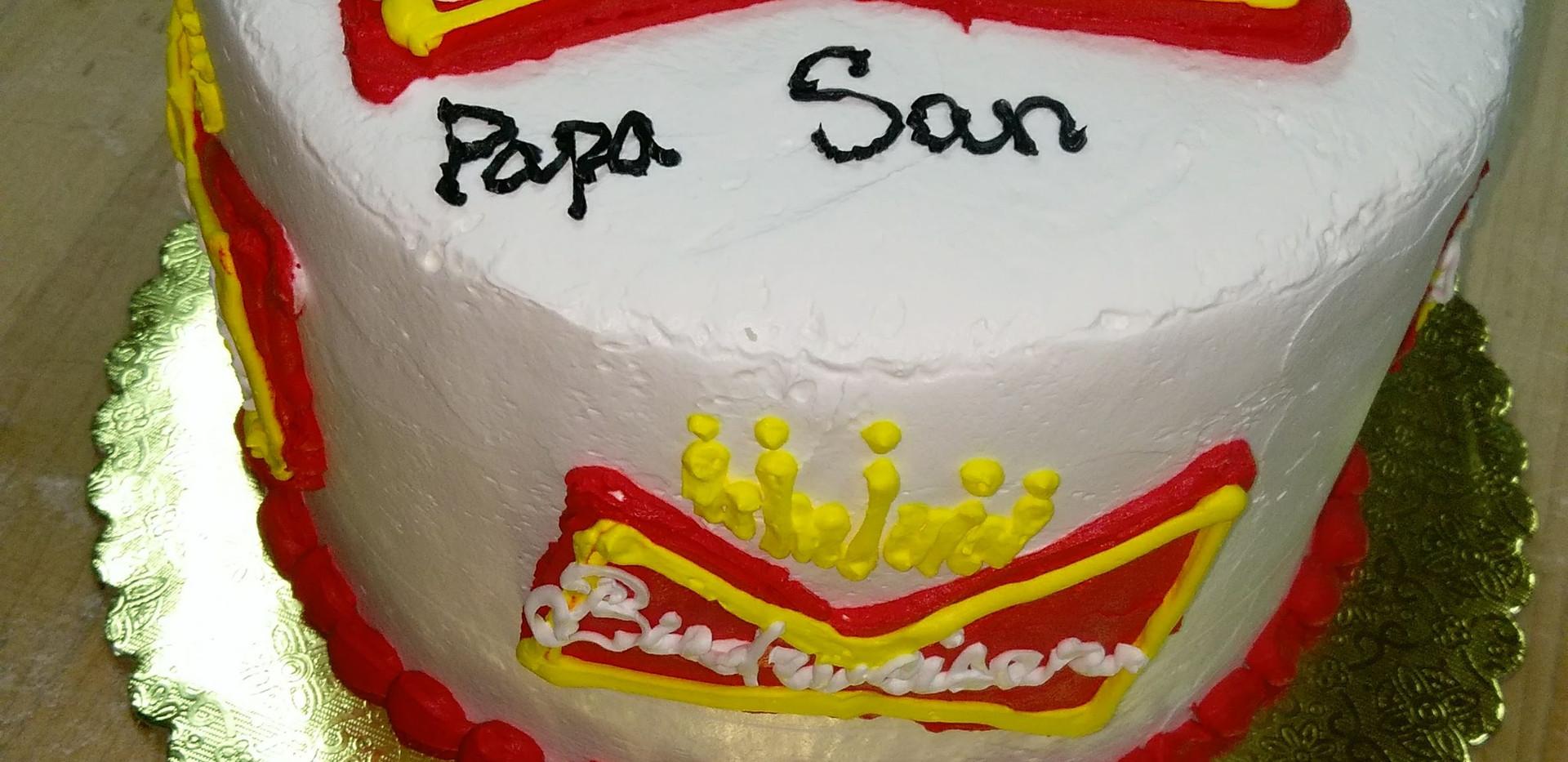 Birthday Cake Budweiser