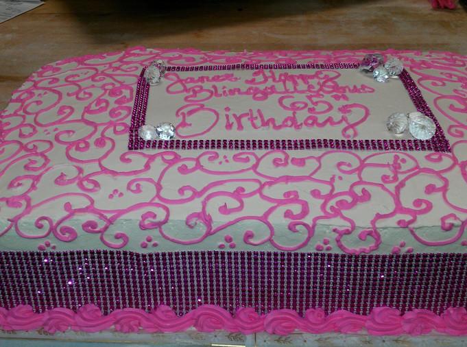 65th Bday cake