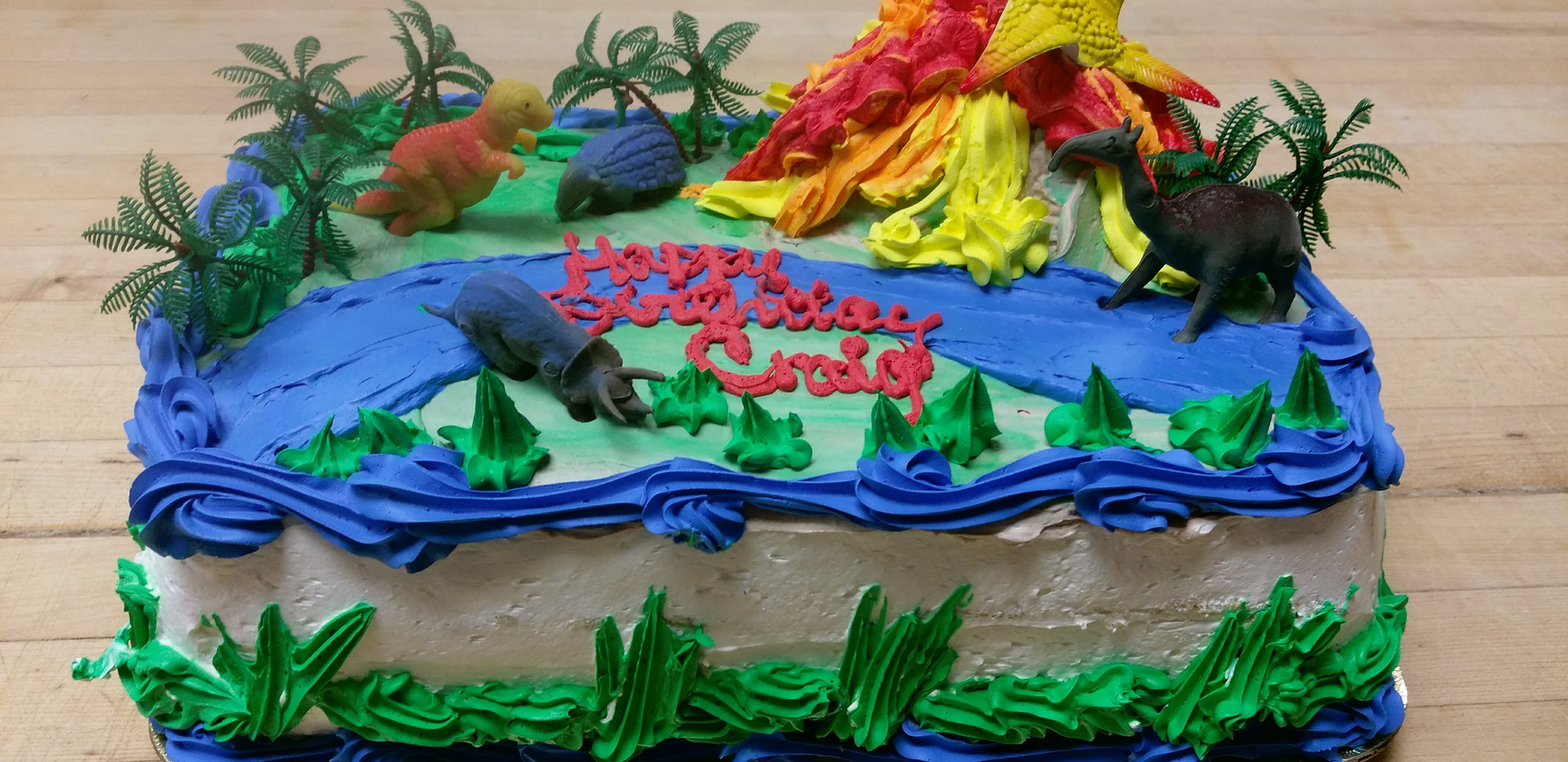 Birthday Cake Dinosaurs