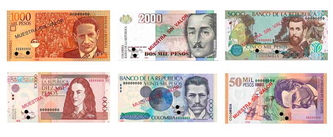 Colombian Bills