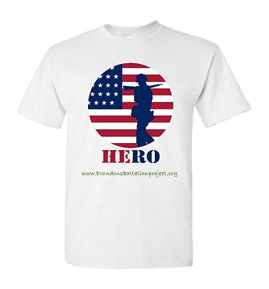 Hero - White Tee