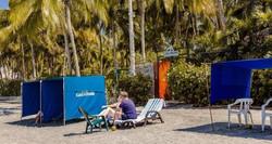 casa verano - semi private beach