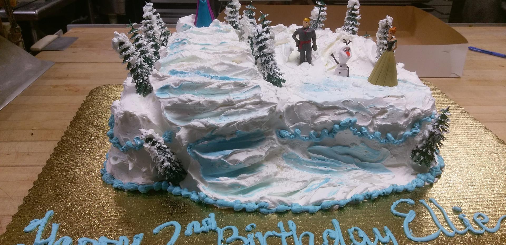 Birthday Cake Snow