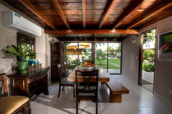 casa verano indoor dining area