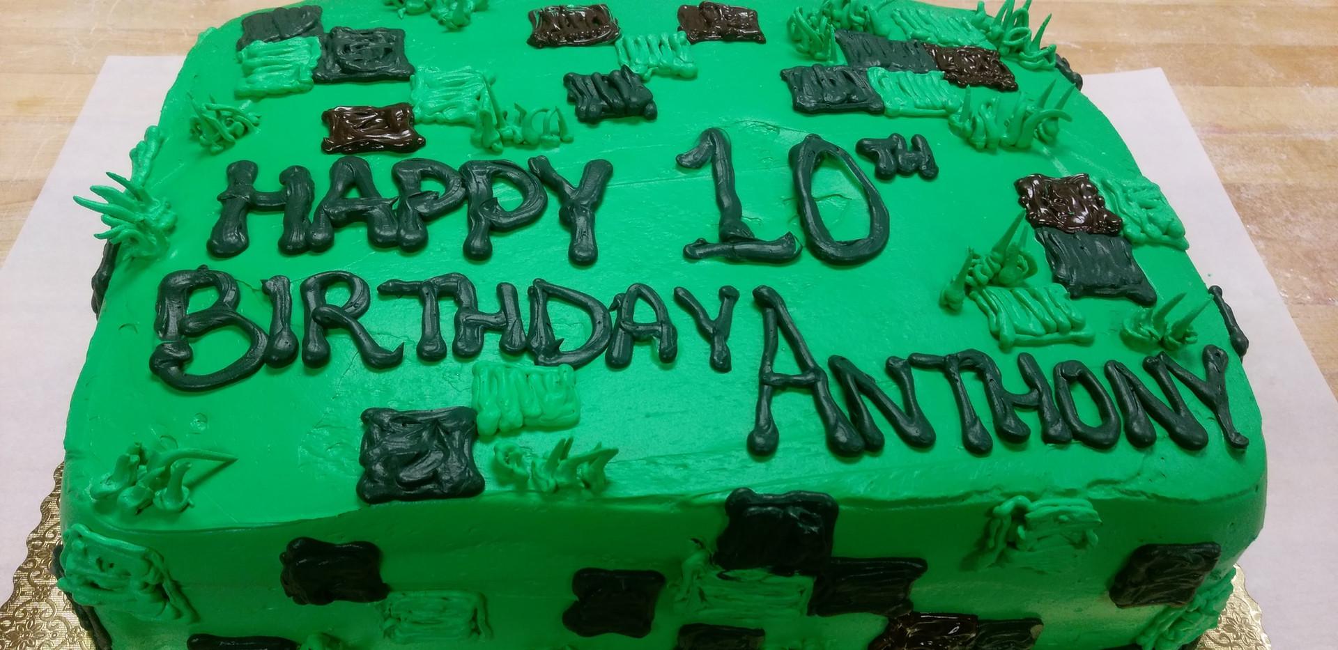 Birthday Cake 10th