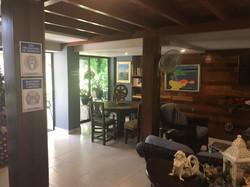 casa verano reception lounge area