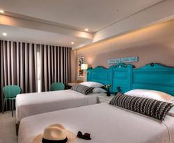 casa verano - bedroom 2 double beds
