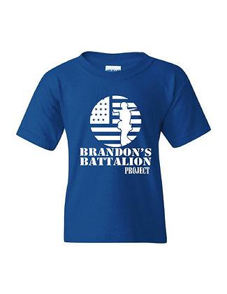 HERO-Brandon's Battalion Project Royal Youth Tee - White Design