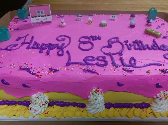 Birthday Cake 8th