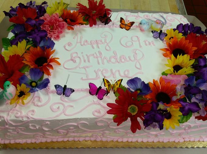 69th Birthday Cake