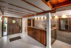 casa verano reception area
