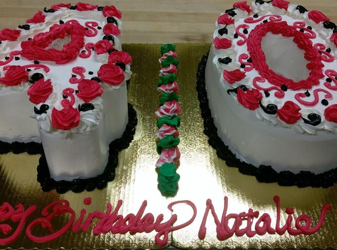 Birthday Cake 40 yrs