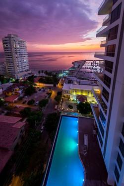 Hotel Gran Marina Ocean View Night