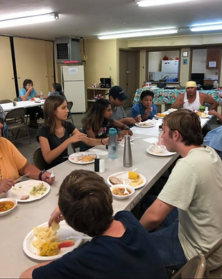 Dinner with All Saints Community
