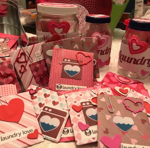 Laundry Love Envelopes