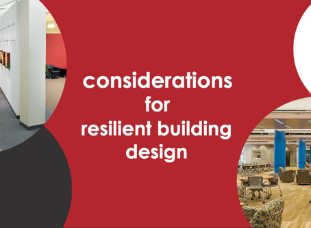 Design Approach for Resilient Facilities