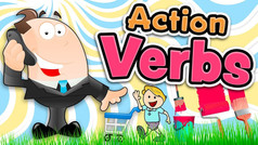 ACTION VERBS for kids in english