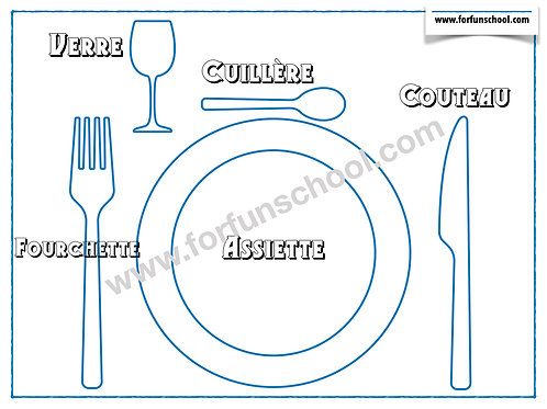 Dinner Time - French