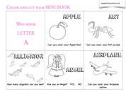 Letter A - English vocabulary