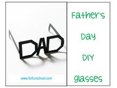 Father's day - DIY Glasses