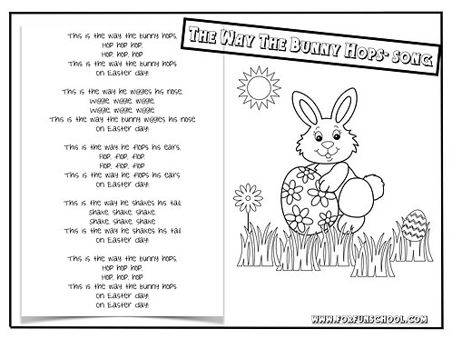 The Way The Bunny Hops- Song