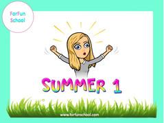 Summer Full English lesson - Primaire