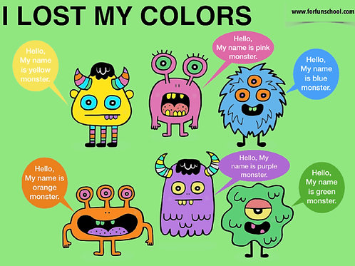 Halloween - I lost my colors