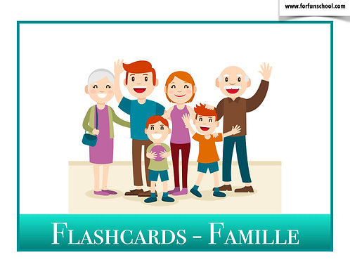 Flashcards - Famille (French)