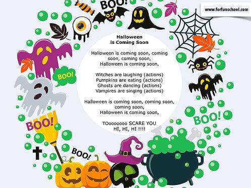 Full Halloween Lesson