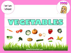 Vegetables lesson 1