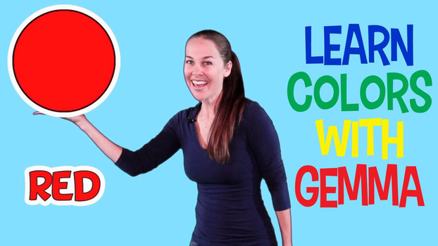 Learning Colors with Gemma - Teaching Basic Colors Video for Kids
