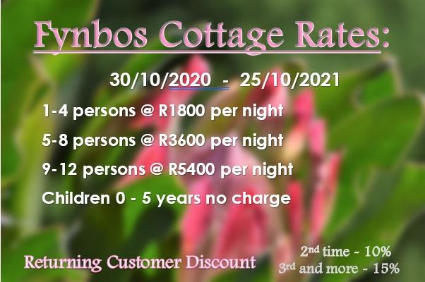 Fynbos Rates 2021