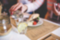 Restaurant Dining American Vegetarian Gluten-Free Fine Funky Cafe Grill Bar Food Meal Breakfast Lunch Dinner